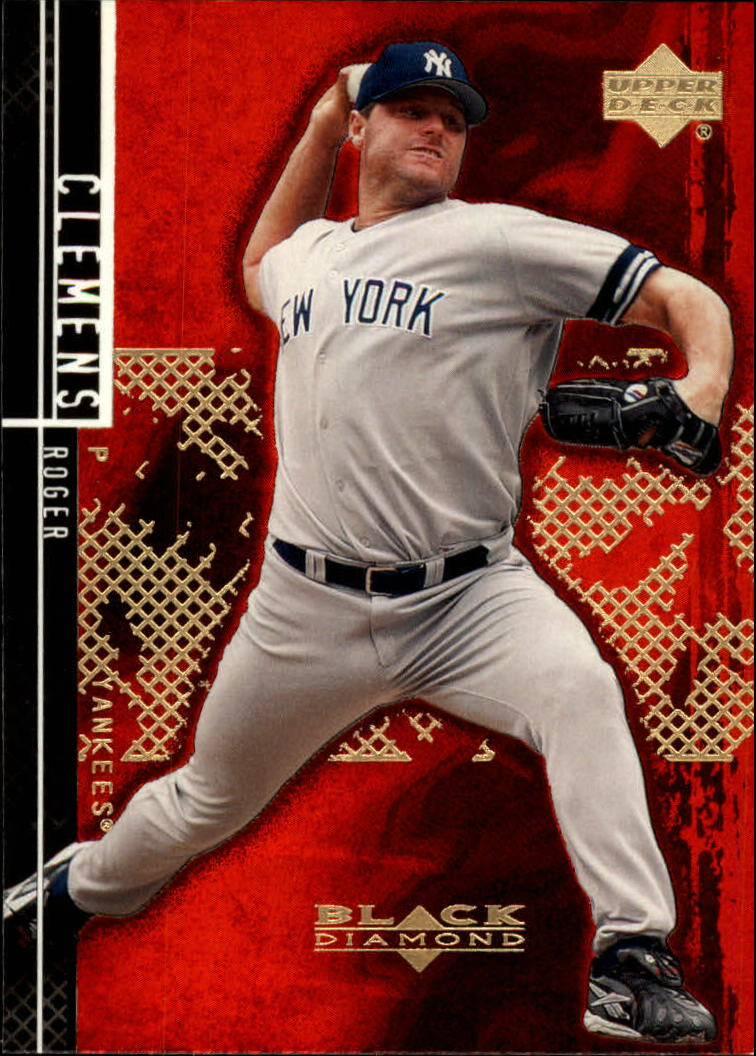 2000 Black Diamond Rookie Edition #39 Roger Clemens