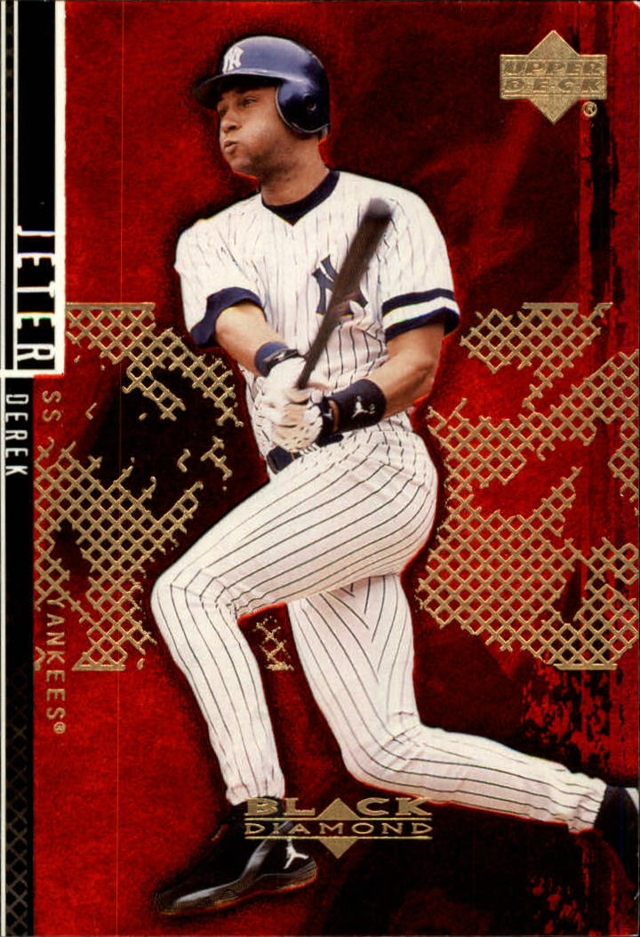 2000 Black Diamond Rookie Edition #40 Derek Jeter