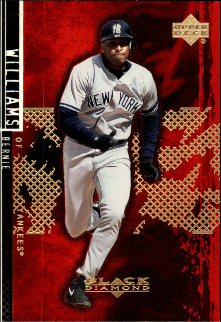 2000 Black Diamond Rookie Edition #41 Bernie Williams