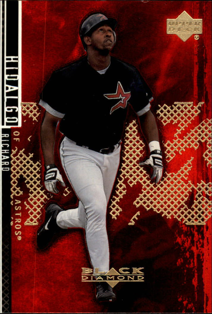 2000 Black Diamond Rookie Edition #44 Richard Hidalgo