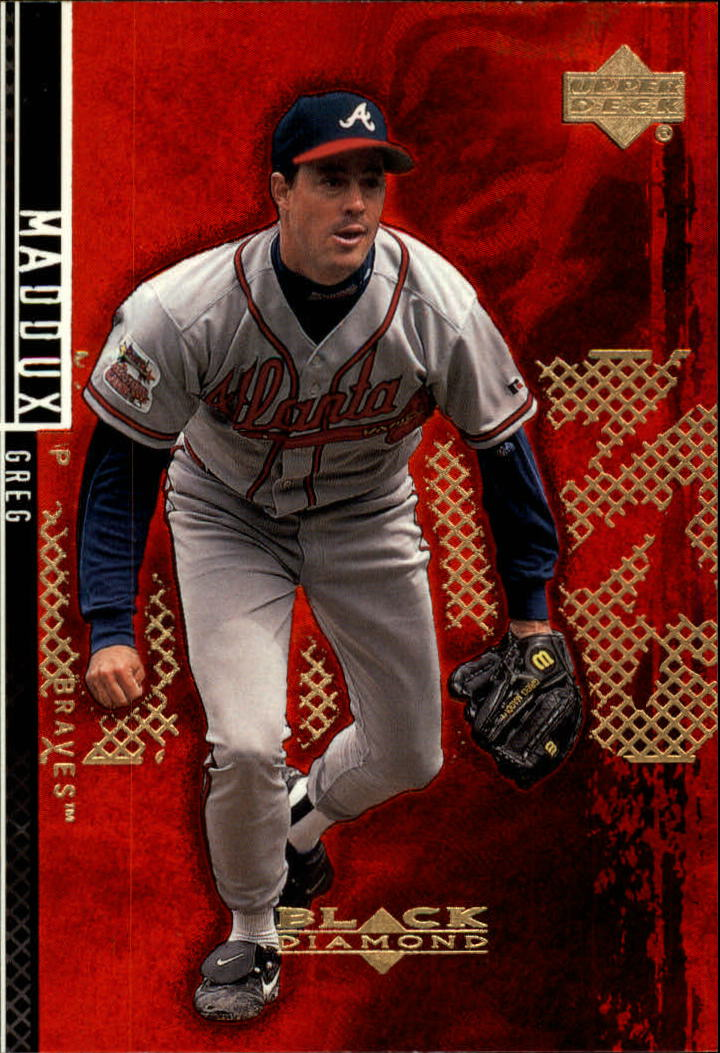 2000 Black Diamond Rookie Edition #46 Greg Maddux