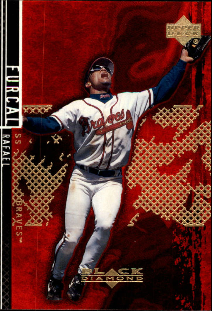2000 Black Diamond Rookie Edition #48 Rafael Furcal