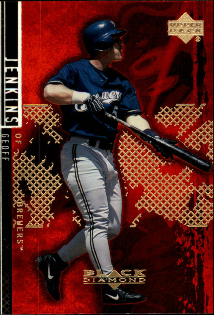 2000 Black Diamond Rookie Edition #50 Geoff Jenkins
