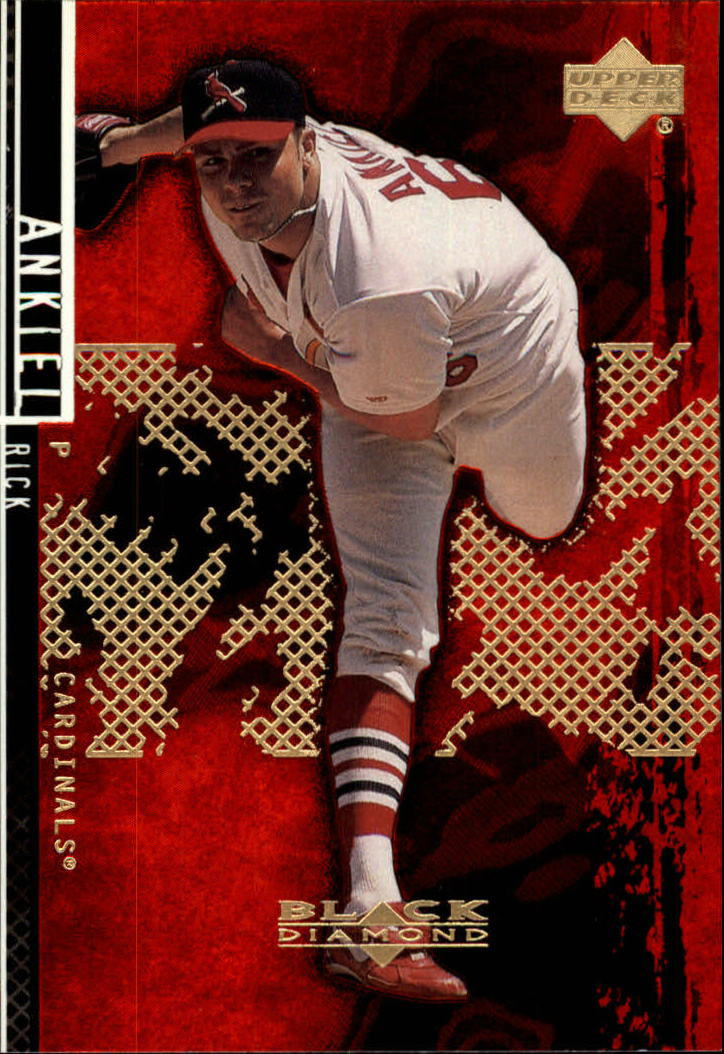 2000 Black Diamond Rookie Edition #53 Rick Ankiel
