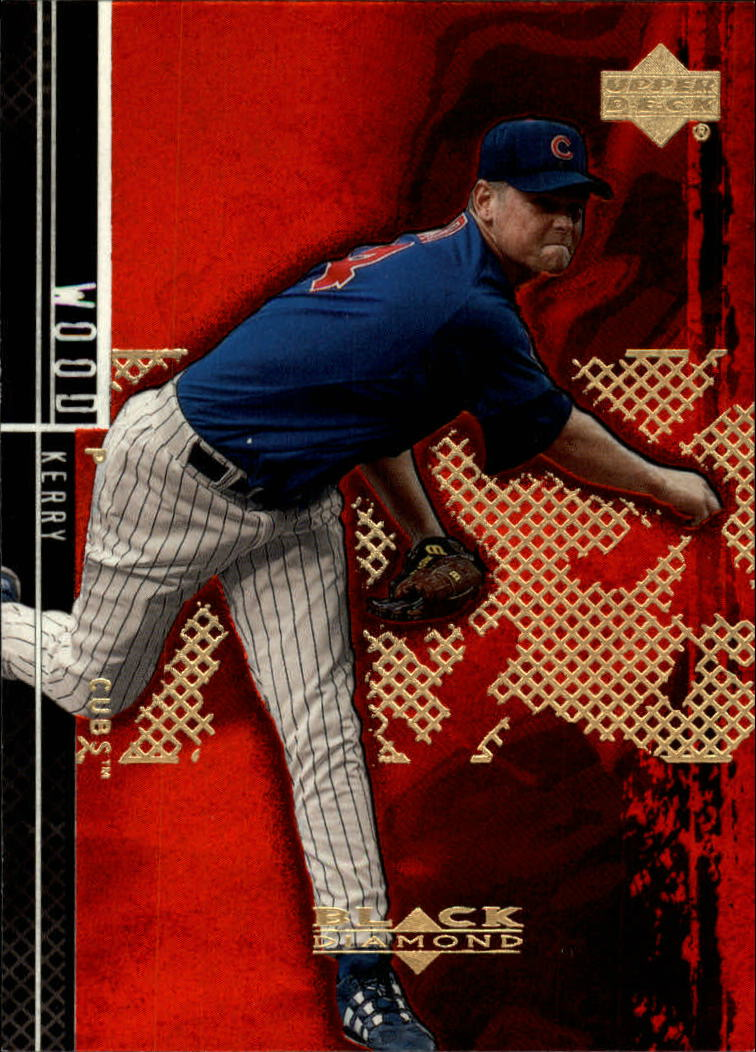2000 Black Diamond Rookie Edition #55 Kerry Wood