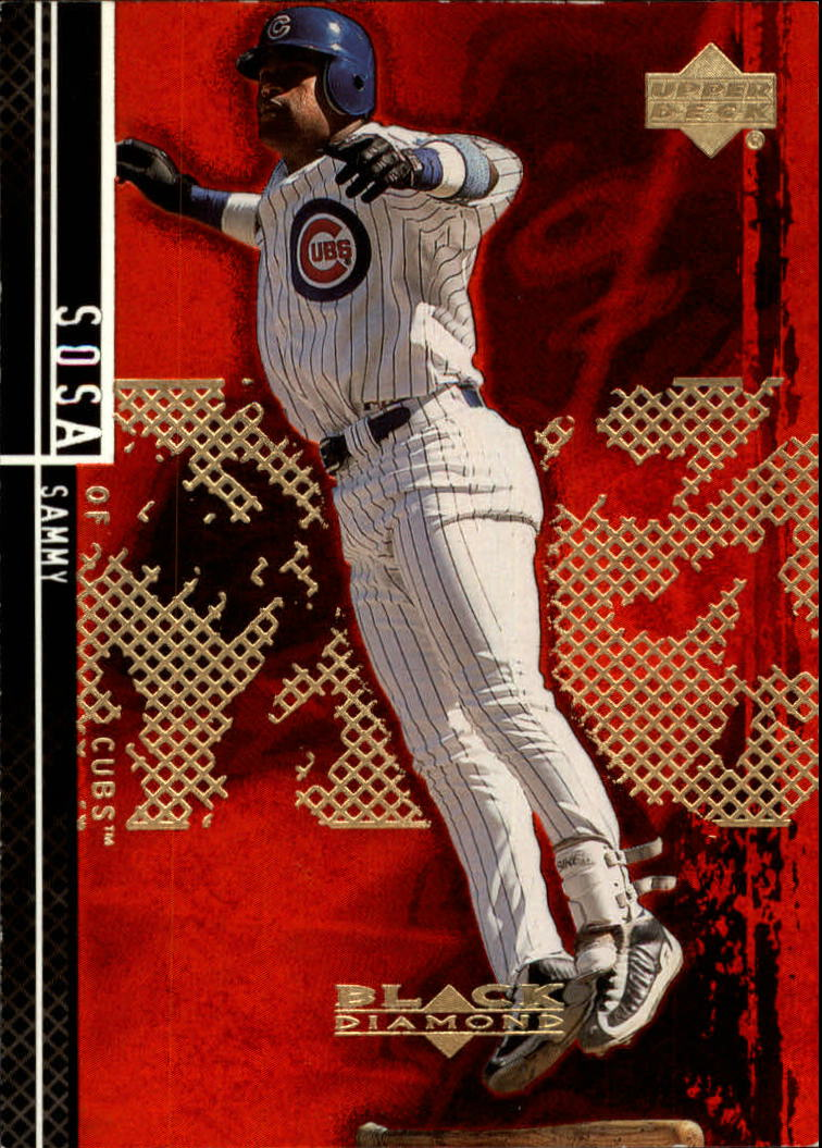 2000 Black Diamond Rookie Edition #56 Sammy Sosa