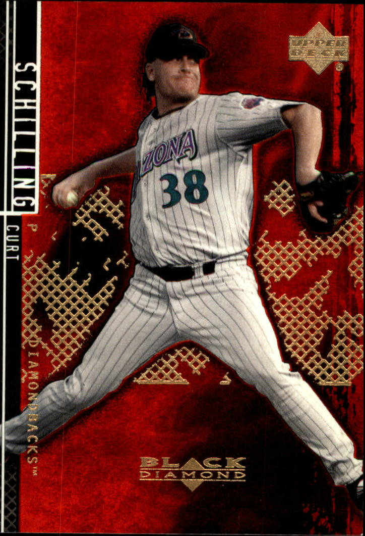 2000 Black Diamond Rookie Edition #60 Curt Schilling