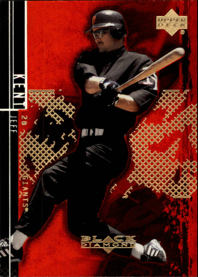 2000 Black Diamond Rookie Edition #66 Jeff Kent
