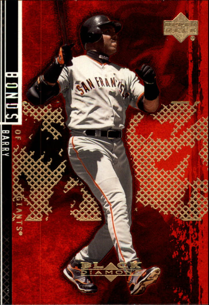 2000 Black Diamond Rookie Edition #67 Barry Bonds