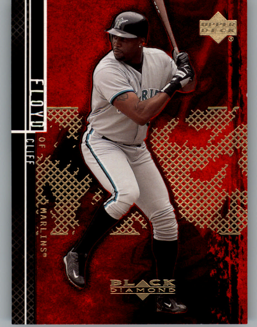 2000 Black Diamond Rookie Edition #69 Cliff Floyd