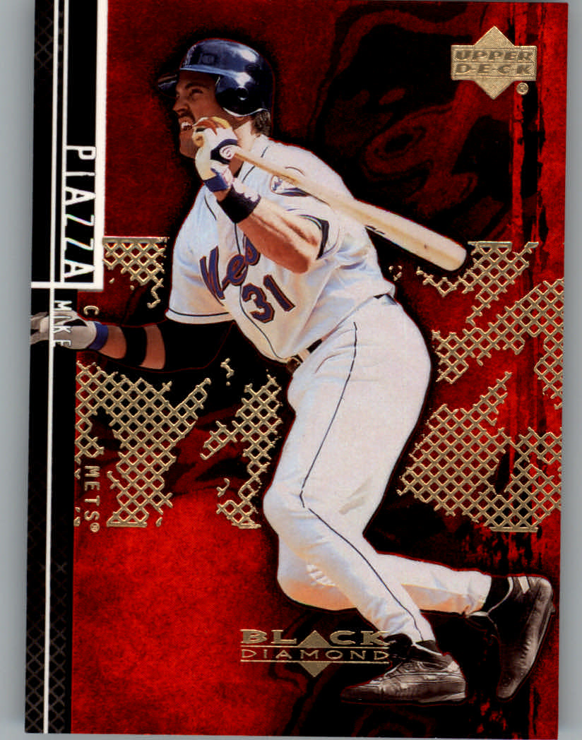 2000 Black Diamond Rookie Edition #71 Mike Piazza