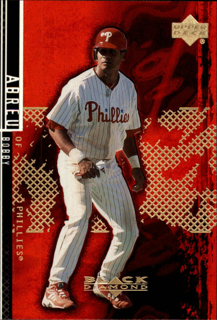 2000 Black Diamond Rookie Edition #77 Bob Abreu