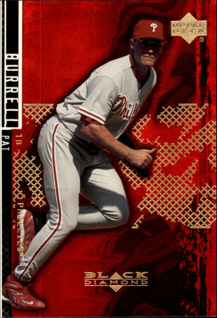 2000 Black Diamond Rookie Edition #78 Pat Burrell