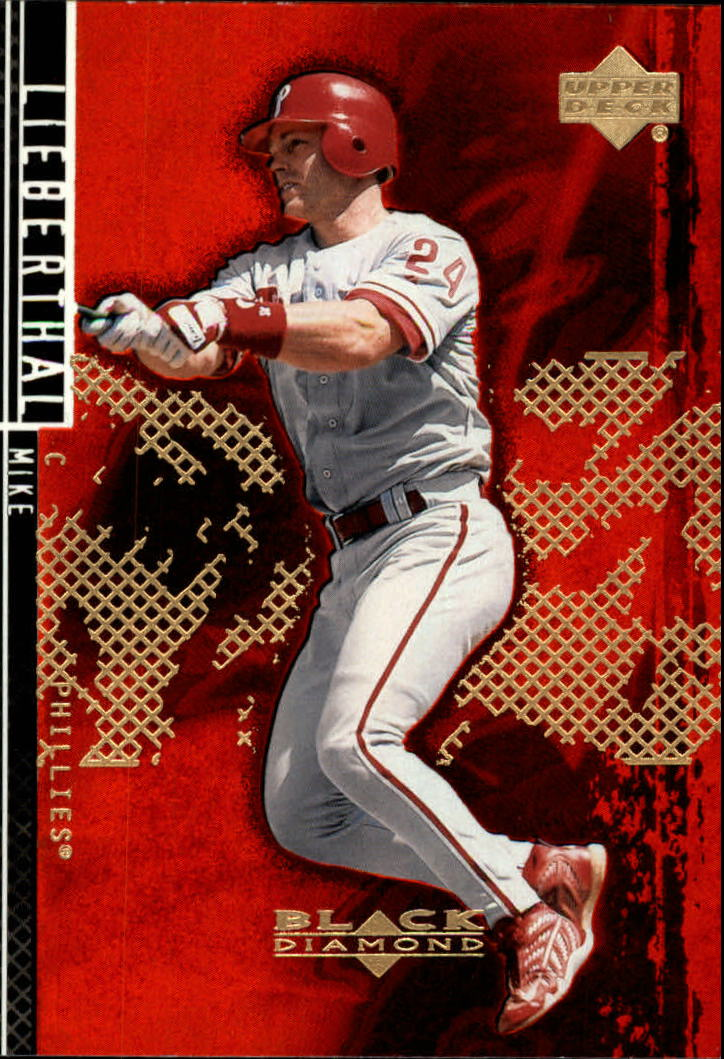 2000 Black Diamond Rookie Edition #80 Mike Lieberthal