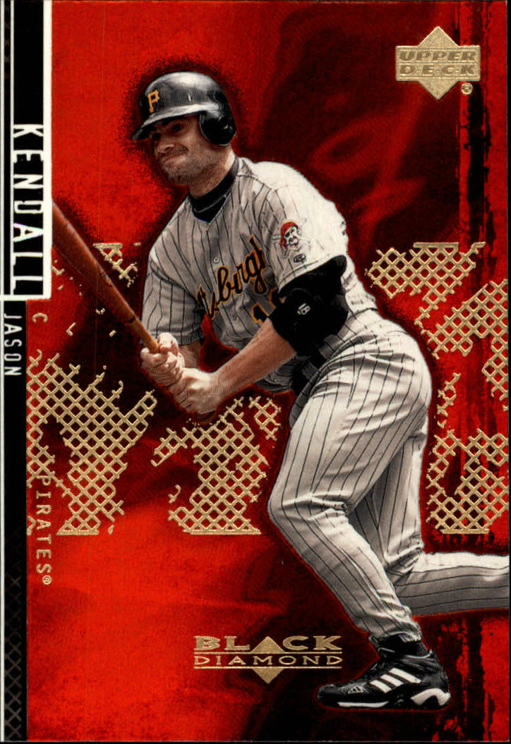 2000 Black Diamond Rookie Edition #81 Jason Kendall