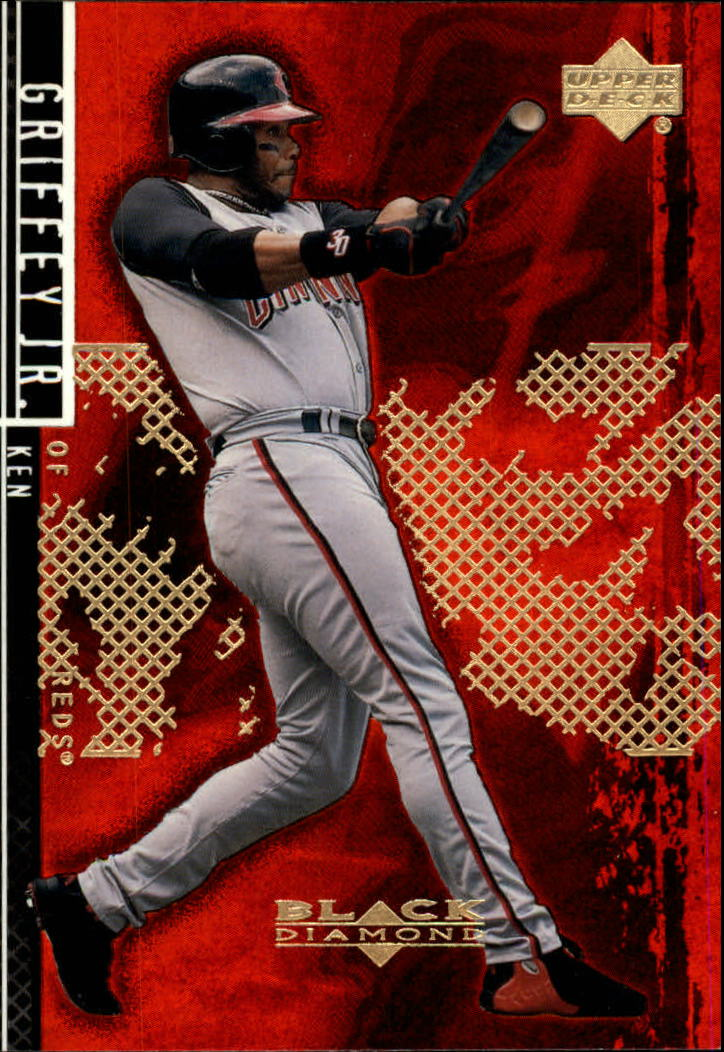 2000 Black Diamond Rookie Edition #83 Ken Griffey Jr.