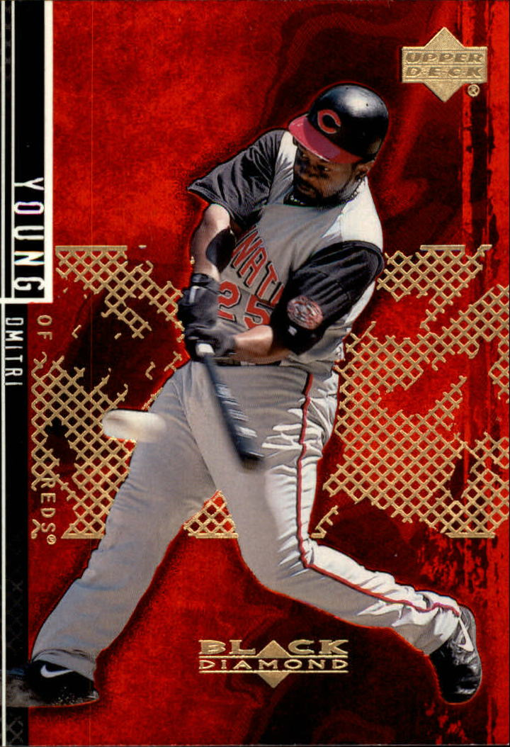 2000 Black Diamond Rookie Edition #85 Dmitri Young