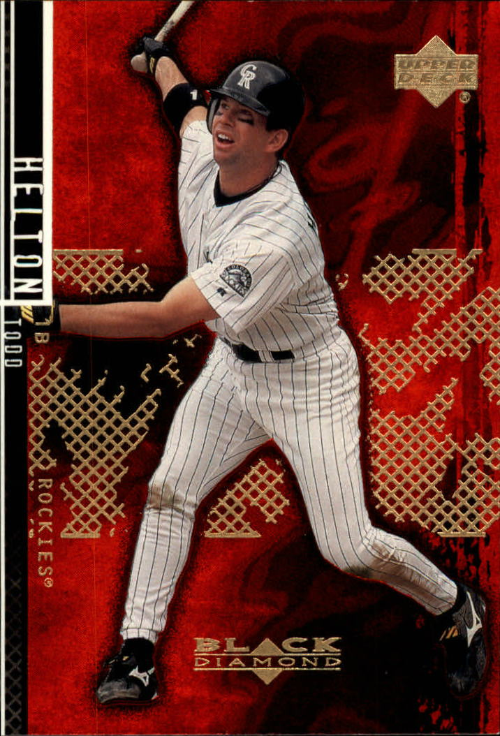 2000 Black Diamond Rookie Edition #88 Todd Helton