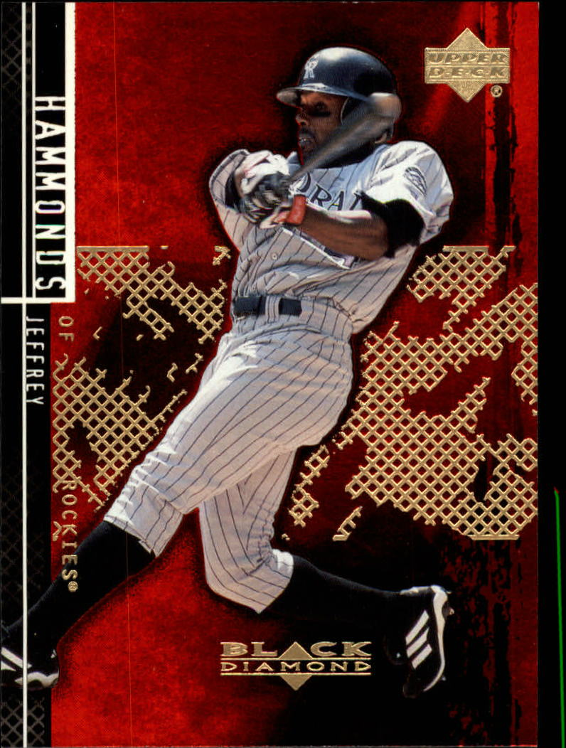 2000 Black Diamond Rookie Edition #89 Jeffrey Hammonds