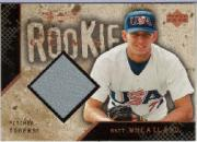 2000 Black Diamond Rookie Edition #122 Matt Wheatland JSY RC