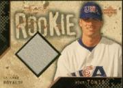 2000 Black Diamond Rookie Edition #133 Mike Tonis JSY RC