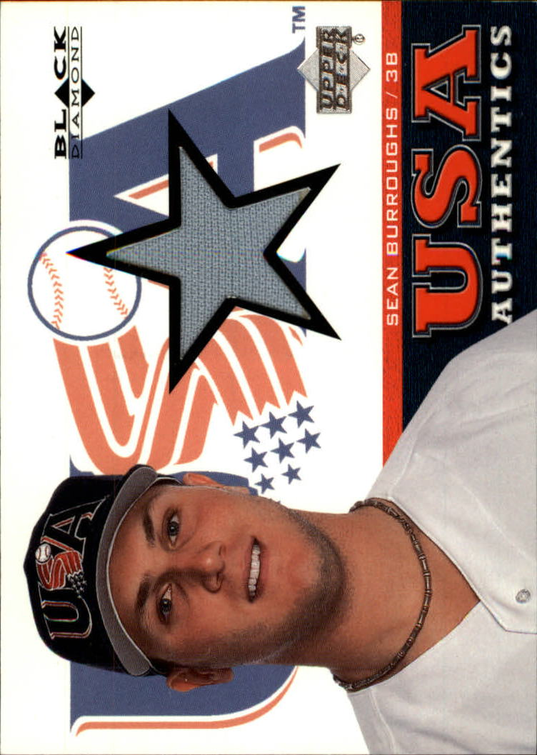 2000 Black Diamond Rookie Edition #137 Sean Burroughs USA