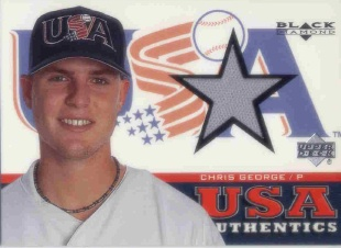 2000 Black Diamond Rookie Edition #149 Chris George USA