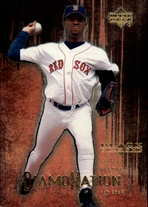 2000 Black Diamond Rookie Edition Diamonation #D1 Pedro Martinez