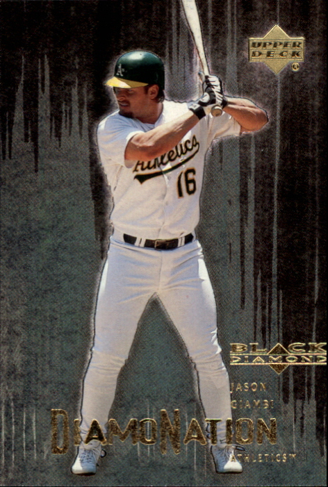 2000 Black Diamond Rookie Edition Diamonation #D3 Jason Giambi