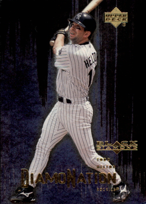 2000 Black Diamond Rookie Edition Diamonation #D4 Todd Helton