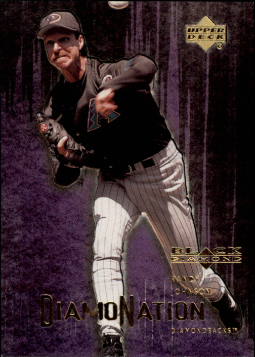 2000 Black Diamond Rookie Edition Diamonation #D6 Randy Johnson