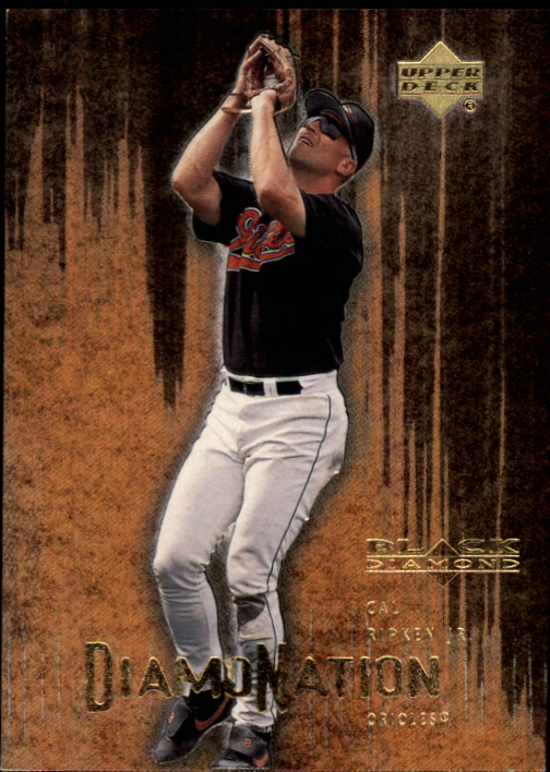 2000 Black Diamond Rookie Edition Diamonation #D8 Cal Ripken