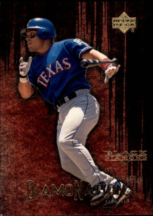 2000 Black Diamond Rookie Edition Diamonation #D9 Ivan Rodriguez
