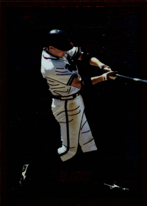 2000 Bowman Major Power #MP2 Chipper Jones
