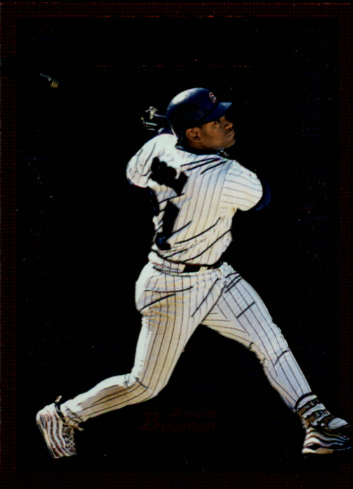 2000 Bowman Major Power #MP4 Sammy Sosa