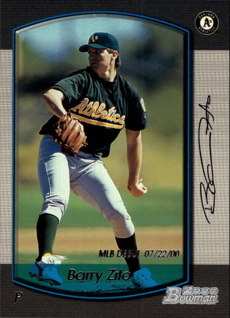 2000 Bowman Draft #4 Barry Zito