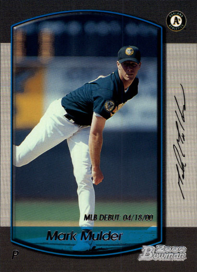 2000 Bowman Draft #6 Mark Mulder