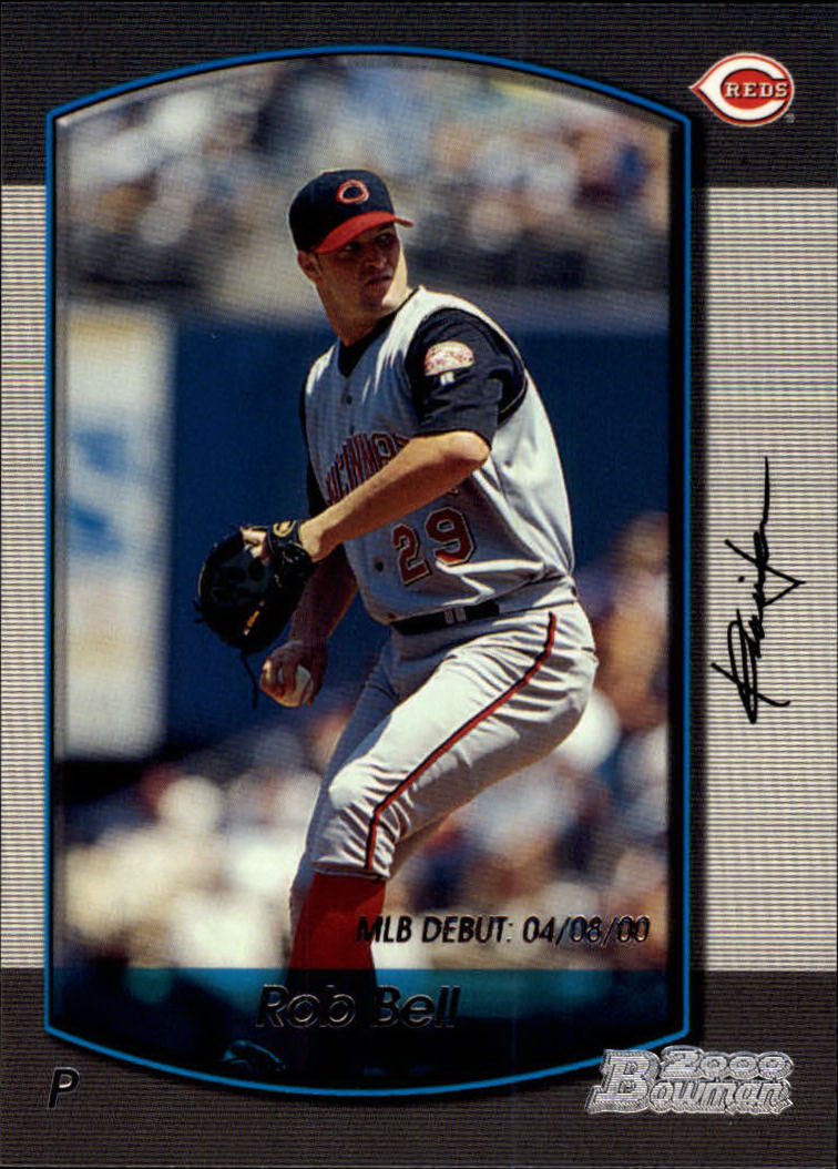 2000 Bowman Draft #7 Rob Bell