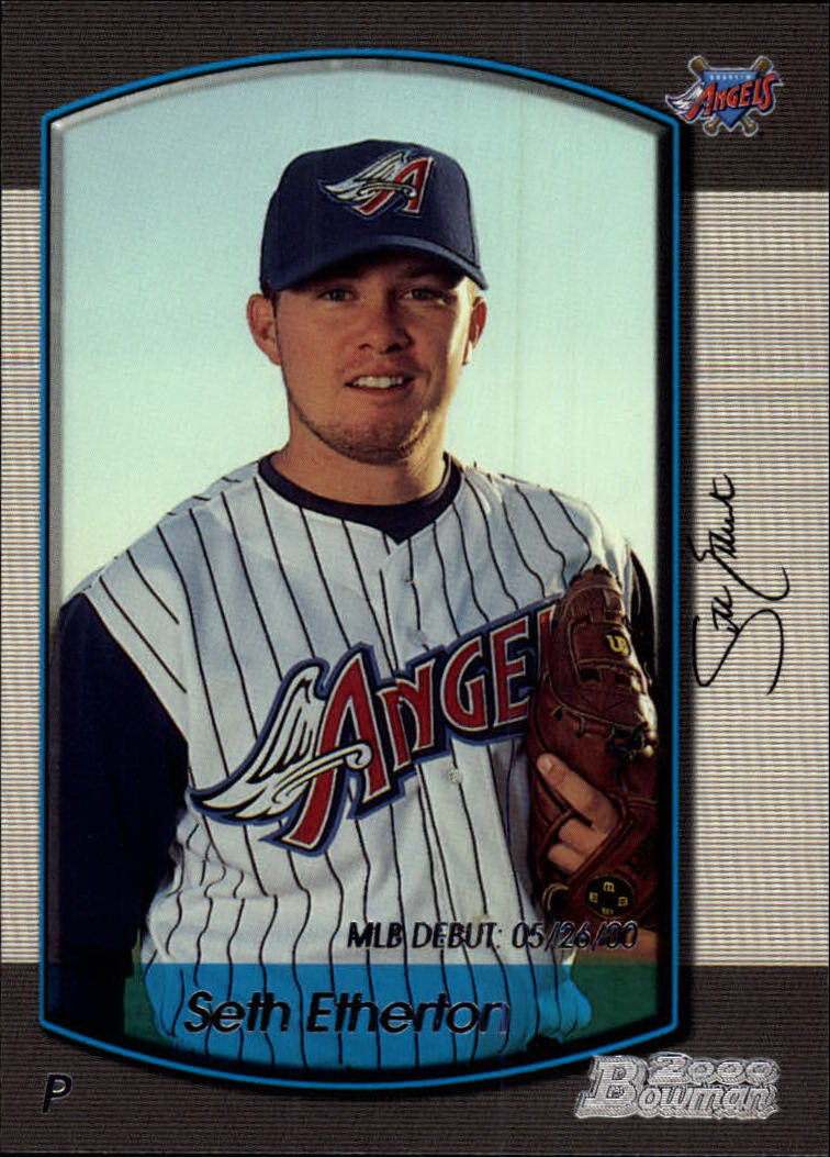 2000 Bowman Draft #14 Seth Etherton