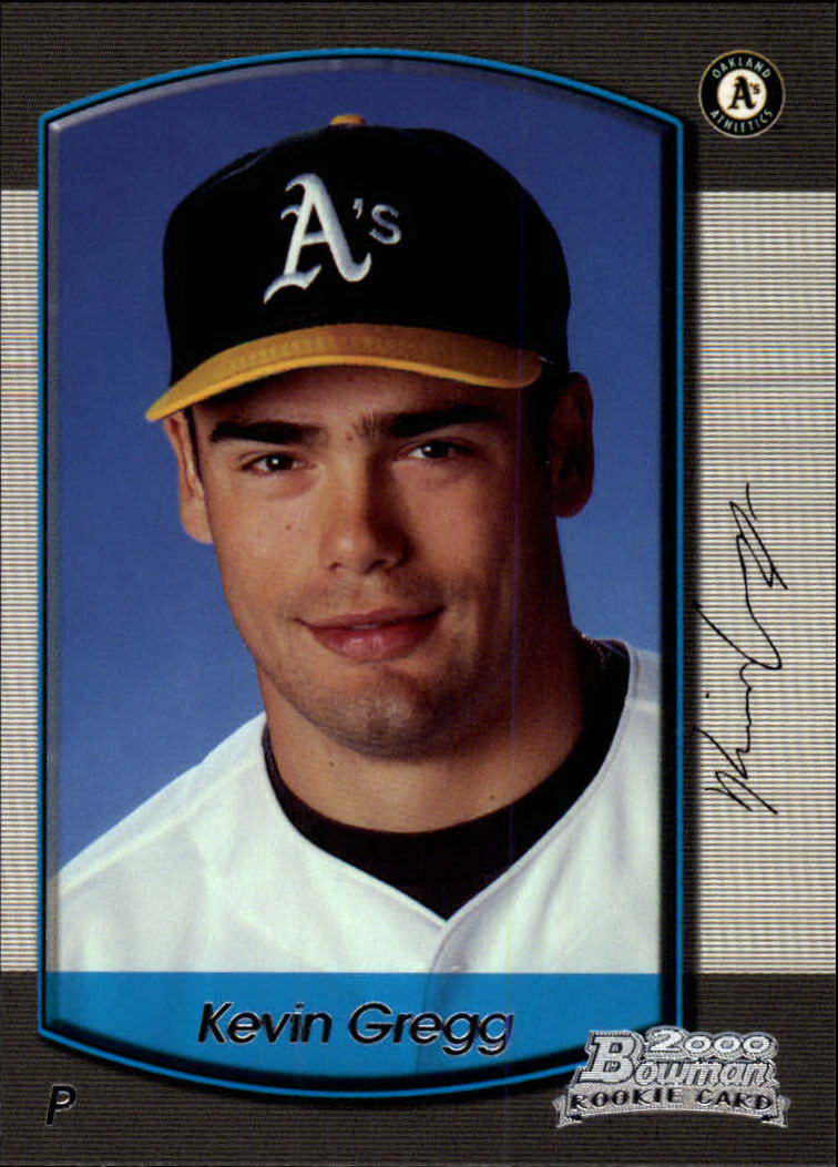 2000 Bowman Draft #19 Kevin Gregg RC
