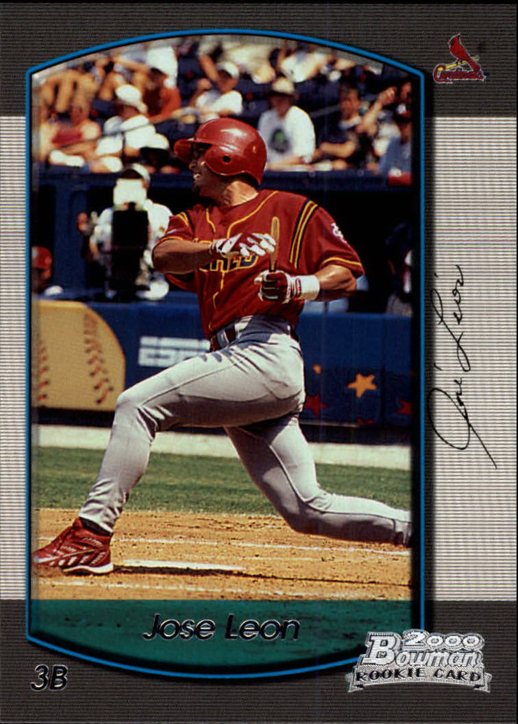 2000 Bowman Draft #62 Jose Leon RC