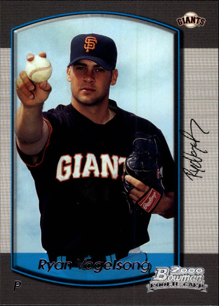 2000 Bowman Draft #63 Ryan Vogelsong RC