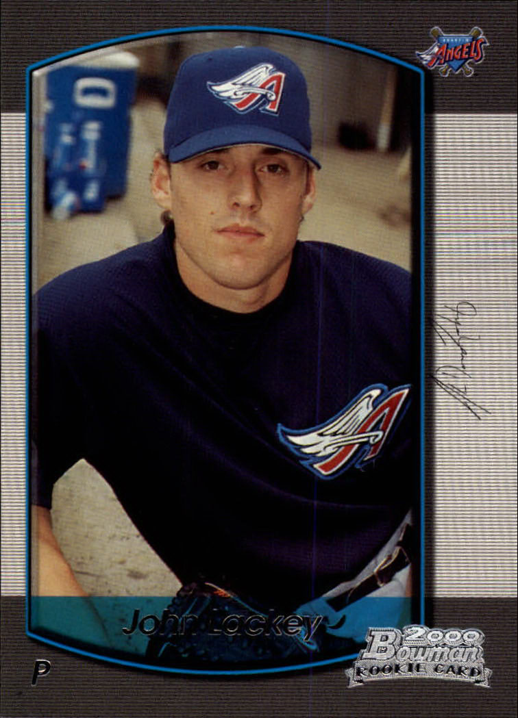 2000 Bowman Draft #80 John Lackey RC