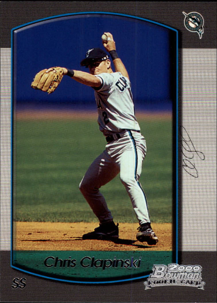 2000 Bowman Draft #84 Chris Clapinski RC