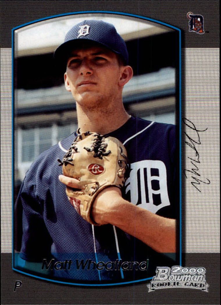 2000 Bowman Draft #89 Matt Wheatland RC