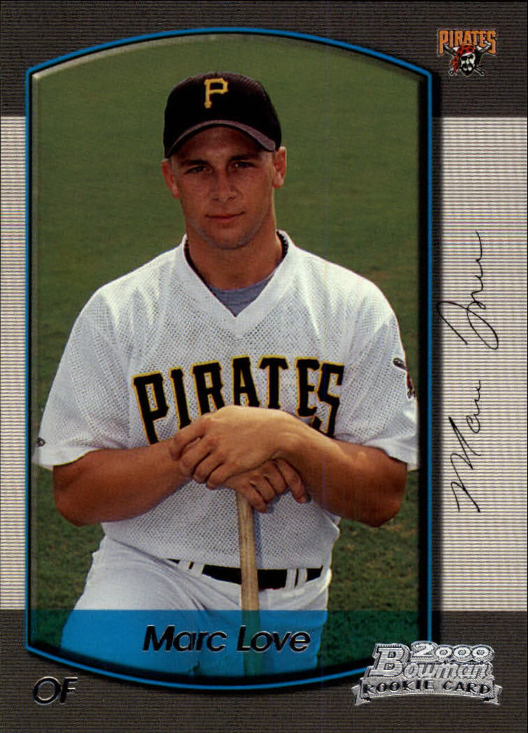 2000 Bowman Draft #101 Marc Love RC