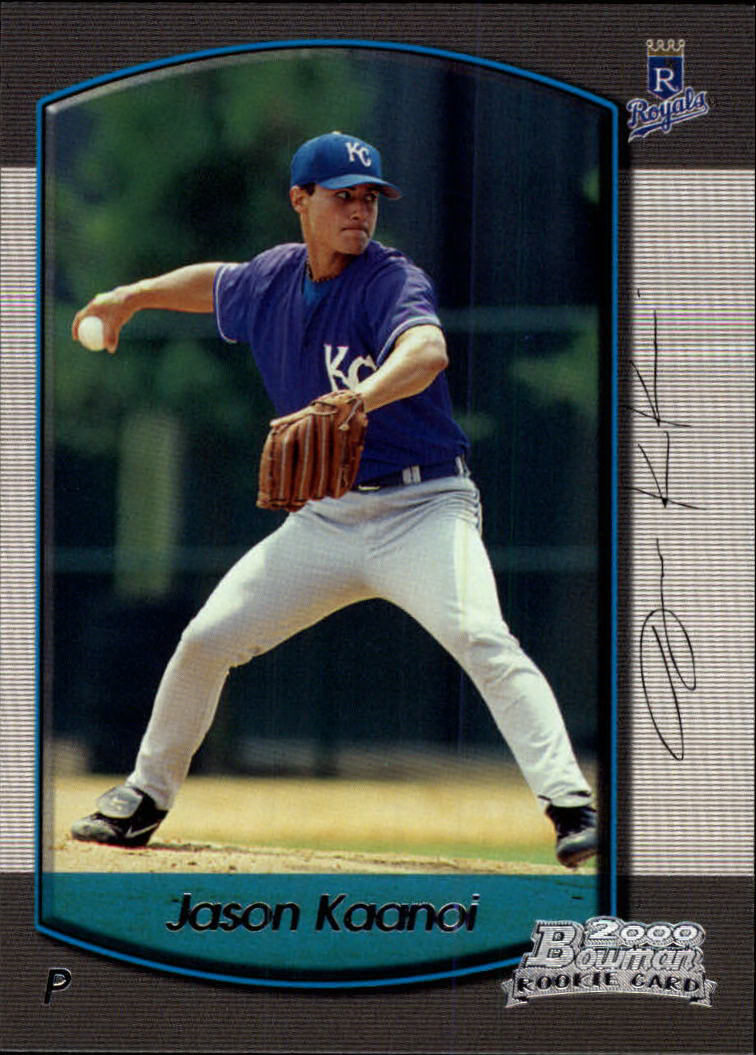 2000 Bowman Draft #104 Jason Kaanoi RC