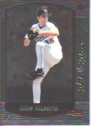 2000 Bowman Chrome #92 Mike Mussina