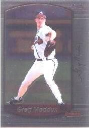 2000 Bowman Chrome #103 Greg Maddux