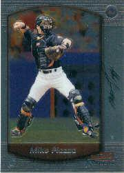 2000 Bowman Chrome #133 Mike Piazza